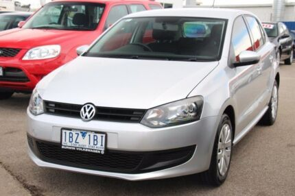 2014 Volkswagen Polo 6R MY15 66TSI Trendline Silver 5 Speed Manual Hatchback Heatherton Kingston Area Preview