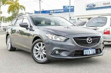 2013 Mazda 6 GJ1031 Touring SKYACTIV-Drive Grey 6 Speed Sports Automatic Wagon Myaree Melville Area Preview