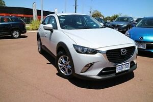 2016 Mazda CX-3 DK4W7A Maxx SKYACTIV-Drive AWD White 6 Speed Sports Automatic Wagon Wilson Canning Area Preview