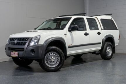2007 Holden Rodeo RA MY07 LX (4x4) White 5 Speed Manual Crew Cab Pickup Woodridge Logan Area Preview