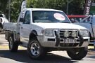 2004 Ford Courier PH XLT Super Cab White 5 Speed Manual Utility