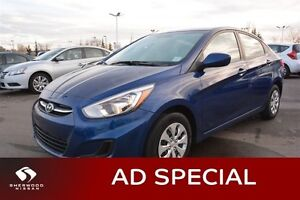 2015 Hyundai Accent GL AUTO Accident Free,  Heated Seats,  Bluet