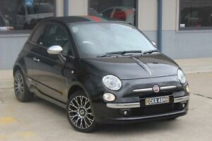 2013 Fiat 500 MY13 BY Gucci Black 5 Speed Automatic Hatchback Blacktown Blacktown Area Preview