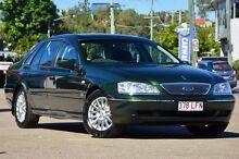 2003 Ford Fairlane BA Ghia Harvest Green 4 Speed Sports Automatic Sedan Toowong Brisbane North West Preview