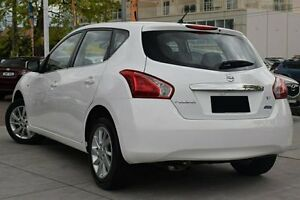 2013 Nissan Pulsar C12 ST White 1 Speed Continuous Variable Hatchback Waitara Hornsby Area Preview