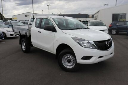 2017 Mazda BT-50 UR0YG1 XT Freestyle White 6 Speed Sports Automatic Cab Chassis Devonport Devonport Area Preview