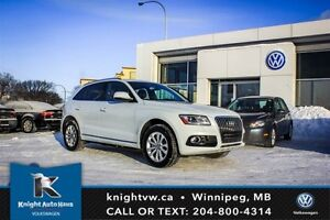 2014 Audi Q5 Quattro AWD w/ Heated Leather Seats/Panoramic Sunr