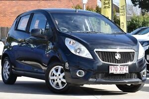 2011 Holden Barina Spark MJ MY11 CD Black 5 Speed Manual Hatchback Toowoomba Toowoomba City Preview