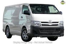 2013 Toyota Hiace KDH201R MY12 LWB White 4 Speed Automatic Van Blacktown Blacktown Area Preview