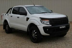 2014 Ford Ranger PX XLS 3.2 (4x4) White 6 Speed Automatic Dual Cab Utility Windradyne Bathurst City Preview