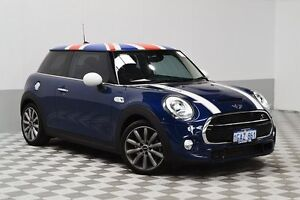 2016 Mini Cooper F56 S Blue 6 Speed Automatic Hatchback East Rockingham Rockingham Area Preview