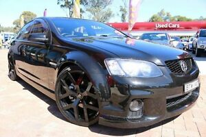 2010 Holden Commodore VE MY10 SS Black 6 Speed Automatic Sedan Campbelltown Campbelltown Area Preview