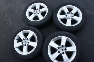 Honda Civic 16inch rims with Winters