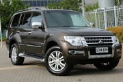 2016 Mitsubishi Pajero NX MY16 Exceed Brown 5 Speed Sports Automatic Wagon Wayville Unley Area Preview