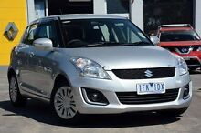 2014 Suzuki Swift  Silver Automatic Hatchback Croydon Maroondah Area Preview