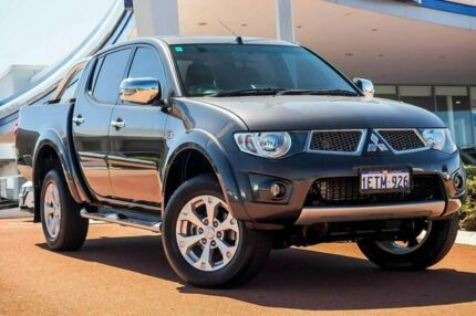 2015 Mitsubishi Triton MN MY15 GLX-R Double Cab Grey 5 Speed Sports Automatic Utility Wangara Wanneroo Area Preview