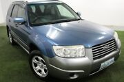 2007 Subaru Forester 79V MY07 XS AWD Luxury Blue 5 Speed Manual Wagon Moonah Glenorchy Area Preview