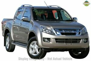 2013 Isuzu D-MAX MY12 LS-Terrain Crew Cab Red 5 Speed Sports Automatic Utility Moonah Glenorchy Area Preview