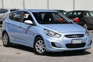 2012 Hyundai Accent Blue Sports Automatic Hatchback Ferntree Gully Knox Area Preview
