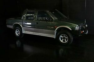 1996 Holden Rodeo TFG6 LX (4x4) Green 5 Speed Manual Utility Daisy Hill Logan Area Preview
