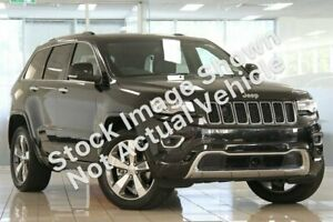 2014 Jeep Grand Cherokee WK MY15 Overland White 8 Speed Sports Automatic Wagon Hoppers Crossing Wyndham Area Preview