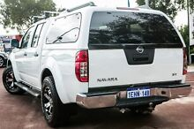 2013 Nissan Navara D40 S6 MY12 ST White 5 Speed Sports Automatic Utility Cannington Canning Area Preview