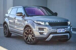2012 Land Rover Range Rover Evoque L538 MY12 SD4 CommandShift Dynamic Grey 6 Speed Sports Automatic