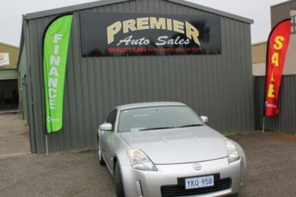 2003 Nissan 350Z Z33 Track Silver 6 Speed Manual Coupe Mitchell Gungahlin Area Preview