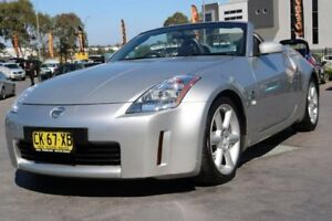 2003 Nissan 350Z Z33 Silver 6 Speed Manual Roadster