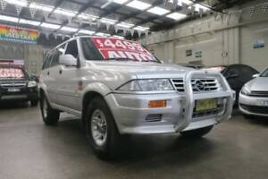 1996 Ssangyong Musso (4x4) 4 Speed Automatic 4x4 Wagon Mordialloc Kingston Area Preview