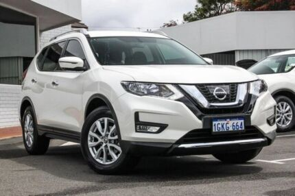 2017 Nissan X-Trail T32 Series II ST-L X-tronic 2WD White 7 Speed Constant Variable Wagon Victoria Park Victoria Park Area Preview