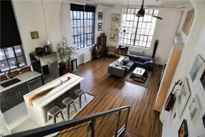 Stunning 1 Bedroom Plus Den Hard Loft