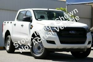 2015 Ford Ranger PX MkII XL Double Cab White 6 Speed Sports Automatic Utility Townsville Townsville City Preview