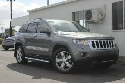 2012 Jeep Grand Cherokee WK MY2012 Limited Grey 5 Speed Sports Automatic Wagon