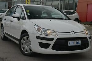 2011 Citroen C4 MY09 VTi White 4 Speed Automatic Hatchback Pearce Woden Valley Preview