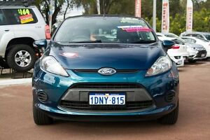 2010 Ford Fiesta WS Zetec Blue 5 Speed Manual Hatchback Cannington Canning Area Preview