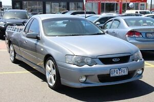 2003 Ford Falcon BA XR6 Turbo Ute Super Cab Silver 4 Speed Sports Automatic Utility Heatherton Kingston Area Preview
