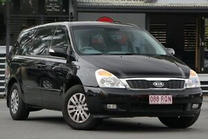 2011 Kia Grand Carnival VQ MY12 S Black 6 Speed Sports Automatic Wagon Bray Park Pine Rivers Area Preview