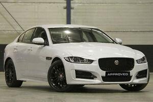 2015 Jaguar XE 20d R-SPORT 20D R-Sport White 8 Speed Automatic Sedan Petersham Marrickville Area Preview