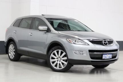 2009 Mazda CX-9 09 Upgrade Luxury Silver 6 Speed Auto Activematic Wagon Bentley Canning Area Preview