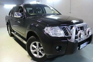 2013 Nissan Navara D40 S5 MY12 ST-X 550 Black 7 Speed Sports Automatic Utility Invermay Launceston Area Preview