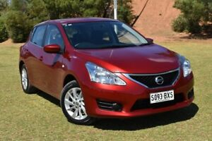 2015 Nissan Pulsar C12 Series 2 ST Red 1 Speed Constant Variable Hatchback St Marys Mitcham Area Preview