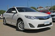 2013 Toyota Camry AVV50R Hybrid H Diamond White Continuous Variable Sedan Victoria Park Victoria Park Area Preview
