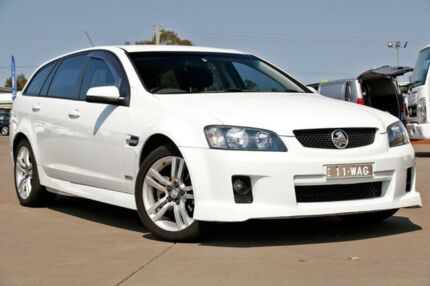 2010 Holden Commodore VE MY10 SV6 Sportwagon White 6 Speed Sports Automatic Wagon McGraths Hill Hawkesbury Area Preview