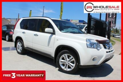 2012 Nissan X-Trail T31 ST-L Wagon 5dr CVT 1sp 4x4 2.5i [Series IV] White Constant Variable Wagon Minchinbury Blacktown Area Preview