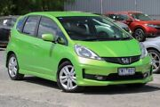 2013 Honda Jazz GE MY13 Vibe-S Green 5 Speed Automatic Hatchback Ferntree Gully Knox Area Preview