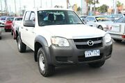 2008 Mazda BT-50 B3000 DX White 5 Speed Manual Dual Cab Pick-up Heatherton Kingston Area Preview