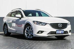 2017 Mazda 6 GL1031 Sport SKYACTIV-Drive White 6 Speed Sports Automatic Wagon Maddington Gosnells Area Preview