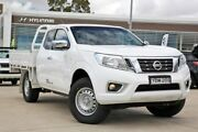 2015 Nissan Navara D23 RX King Cab White 6 Speed Manual Utility Castle Hill The Hills District Preview