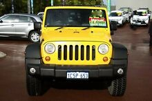 2008 Jeep Wrangler JK Sport Yellow 6 Speed Manual Softtop Cannington Canning Area Preview